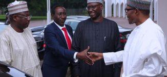PHOTOS: Buhari heads to Daura for Sallah