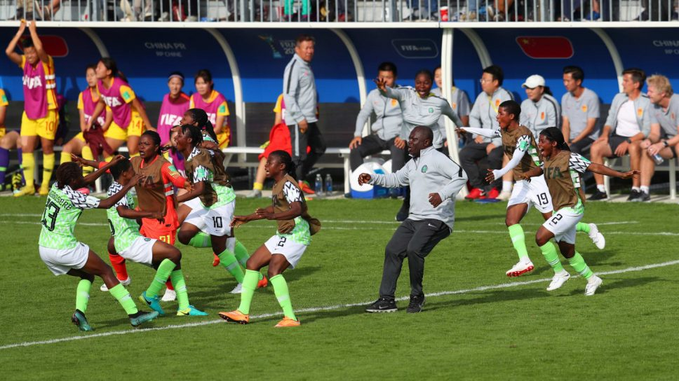 Falconets soar to quarter finals of U-20 World Cup