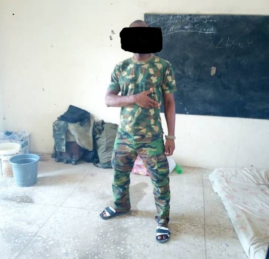 Nigerian soldiers fighting Boko Haram in the North East share sad stories of how they allegedly beg for food, sleep in classrooms, and wear slippers to war front