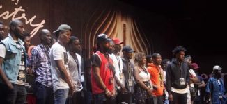 PHOTOS: 500 rappers turn up for Hennessy VS Class Lagos audition