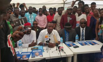 1999 constitution is a fraud, says Sowore