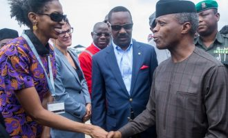 VIDEO: Osibanjo tours LADOL free zone in Lagos