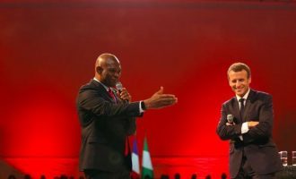 Macron: It's true startups in Nigeria have less favourable conditions than those in US