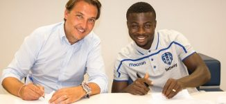 Levante sign Moses Simon on five-year deal