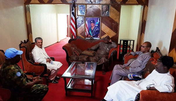 UN hails Obasanjo for role in Liberia's smooth transition of power