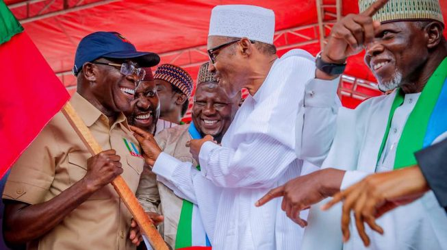 Buhari describes recent APC victories as sign of good things in 2019