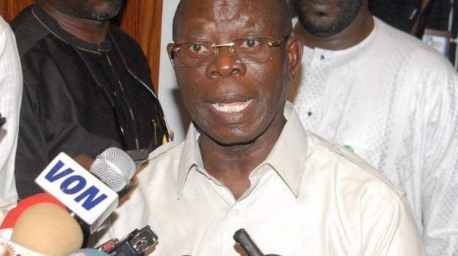 Oshiomhole says APC must comply with electoral guidelines during primaries