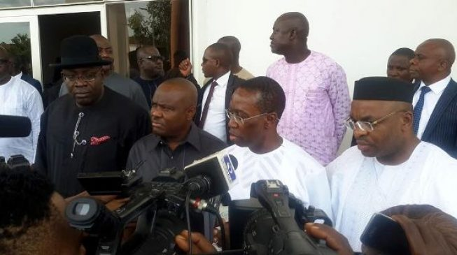 PDP governors head to Benue as party hosts APC defectors in Abuja