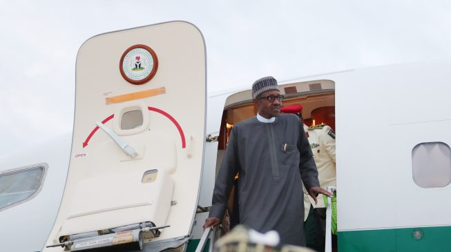 Buhari returns from London vacation