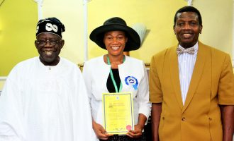 PHOTOS: Tinubu's wife ordained a pastor