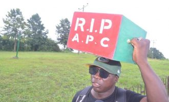 Buhari's former supporter begins 'trek from Lagos to Abuja', says APC is dead