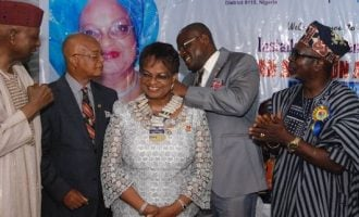 Agbe-Davies is new president of Rotary Club of Ikoyi
