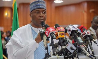 Saraki: Osun rerun is an embarrassment to democracy