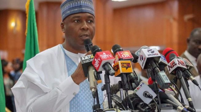 Saraki: Presidency's delay in submitting INEC budget shows lack of foresight