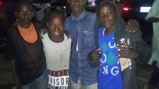 Abuja is the city where children beg at night