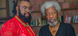 Soyinka hails Nwelue on AMAA nod, says even nomination deserves 'washing'