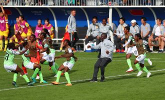 Ajibade's last-gasp strike keeps Falconets' World Cup campaign alive