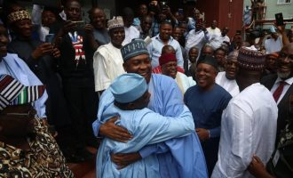 Tinubu: Saraki, Tambuwal defected because they can't face Buhari in APC