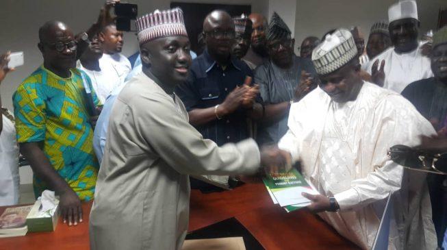 Tambuwal picks PDP presidential nomination form
