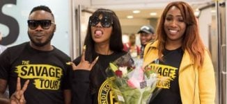 PHOTOS: Tiwa Savage touches down in London for concert at IndigO2