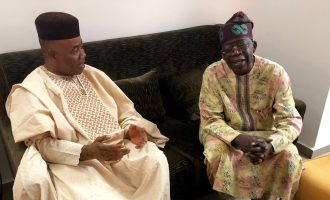PHOTOS: Akpabio visits Tinubu — after trip to Buhari