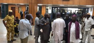 JUST IN: '170 PDP lawmakers' barricade senate chamber