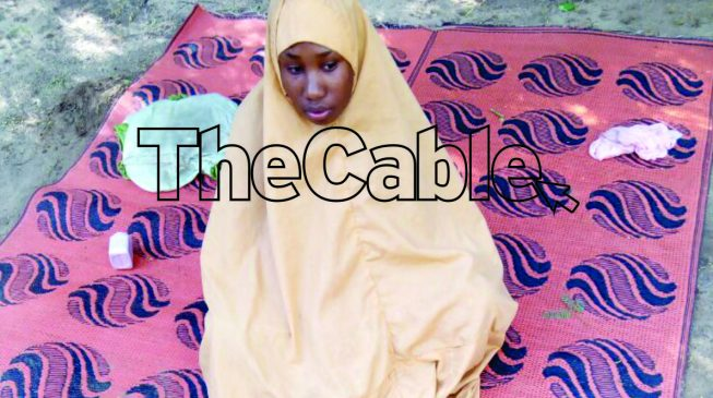 EXCLUSIVE: Leah Sharibu speaks from captivity, asks Buhari to pity her (audio)