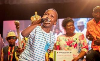 Otedola pledges to sponsor 11-year-old rapper's education