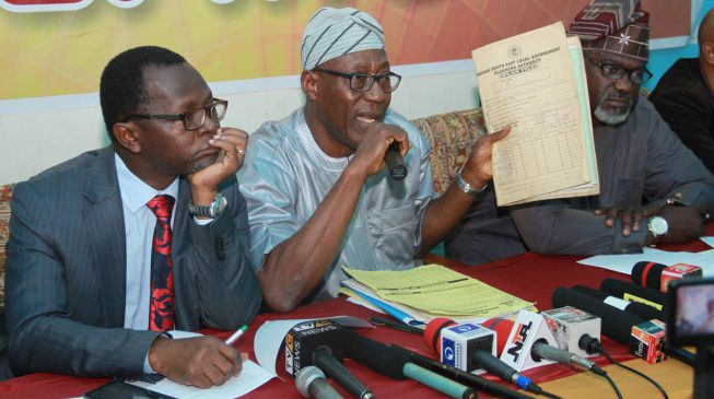 Oyo: Why we pulled down Ayefele's Music House