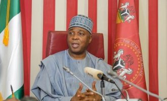 Saraki: This government implementing my blueprint on commercial farming