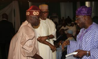 Tinubu to Obasanjo: You have spent your own time… leave Buhari alone