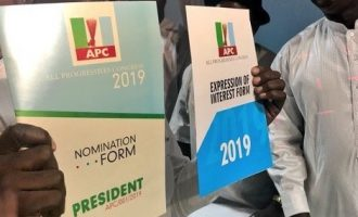EXTRA: One APC presidential form can buy PDP nomination forms at all levels — with N24m change
