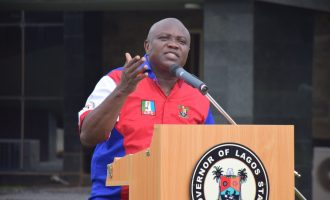 Ambode: US arrested Sanwo-Olu for spending fake dollars