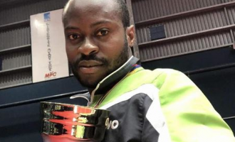 Aruna Quadri wins his first African men's title