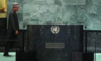 Buhari speaks at UN, calls for global action against corruption