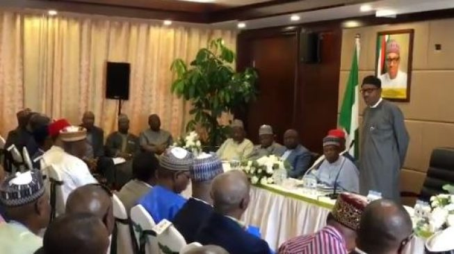 Buhari: I don't fear free and fair election… that's what brought me here
