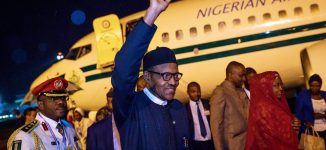 Buhari back to Abuja after attending China-Africa summit