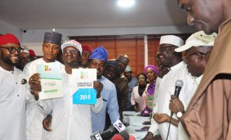 PDP on N45m form: INEC must penalise Buhari for violating electoral act