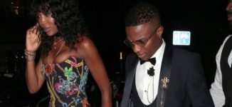 PHOTOS: Wizkid attends GQ Awards as Naomi Campbell's date