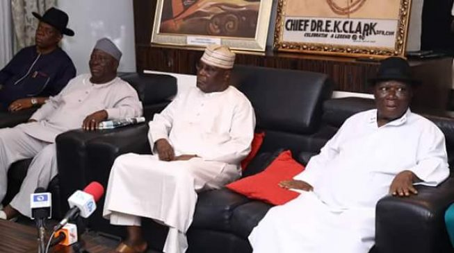 2019: Southern elders grill Atiku, vow to invite Buhari