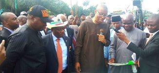 Buhari commissions flood control project in Akwa Ibom