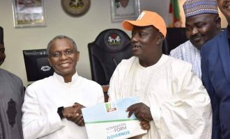 I don't have N20m in my account, says el-Rufai as groups donate nomination form to him