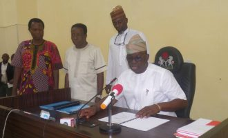 I've done my best, says Fayose as he presents handover note to Ekiti HOS