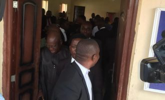Ekiti governorship tribunal moved out of state