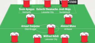 Musa, Troost-Ekong, Ndidi… TheCable's team of the week
