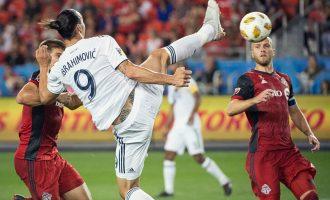 WATCH: Ibrahimovic's 500th career goal is a stunner