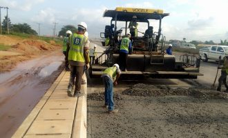 Section one of Lagos-Ibadan expressway 'at 57% completion'