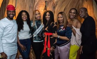 PHOTOS: Omoni Oboli, Adebola Williams turn up for Mo Abudu's birthday shindig