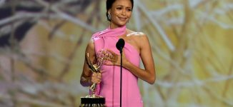 VIDEO: The Emmy moment Thandie Newton said 'I don't believe in God'