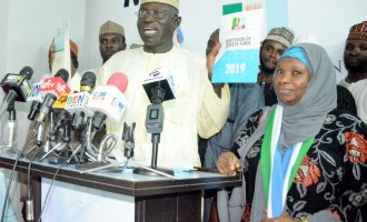 Drama as ex-IGP Abba turns prayer warrior at APC headquarters